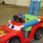 A GoBabyGo adapted car ready for a user to test!