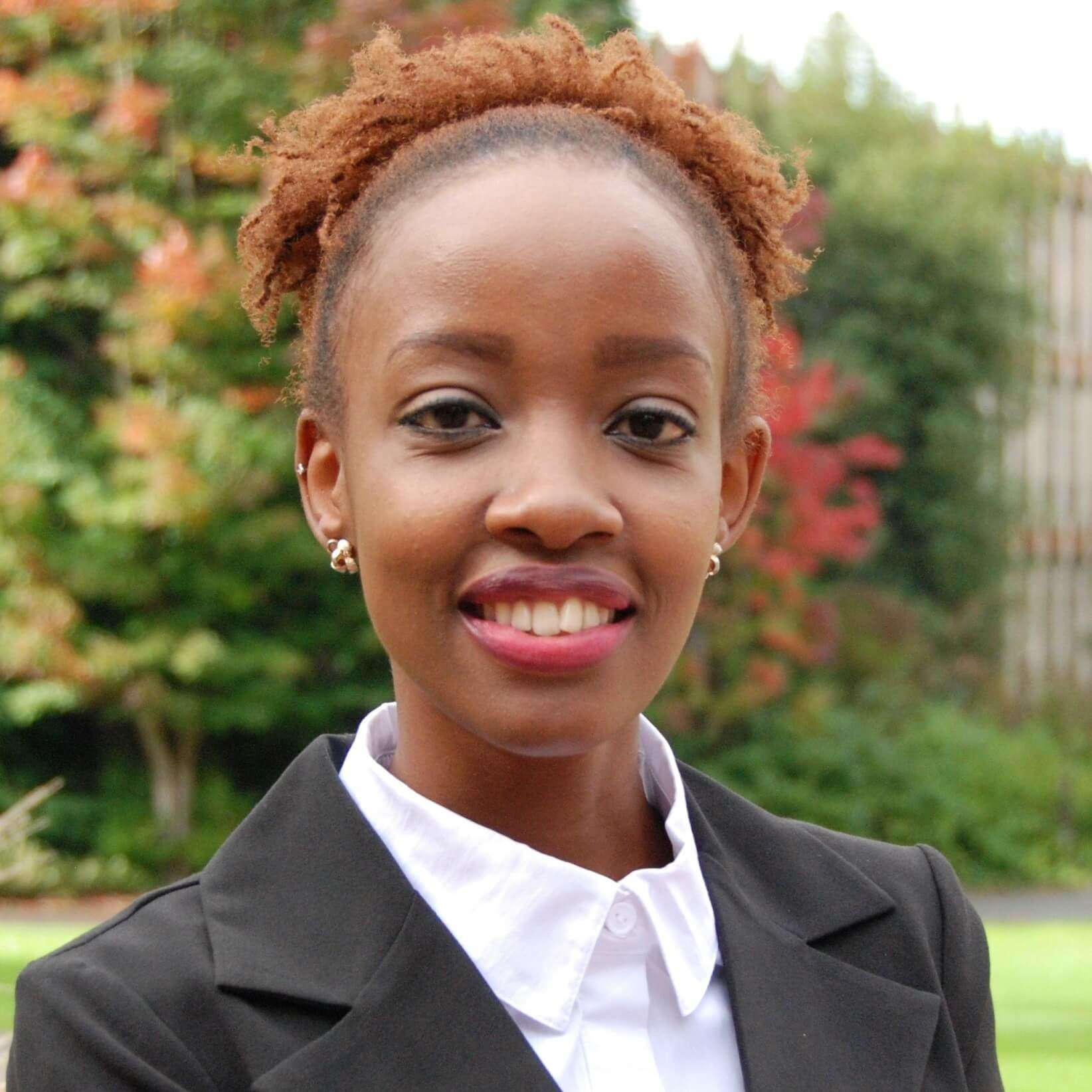 Caroline Karanu : Graduate Student