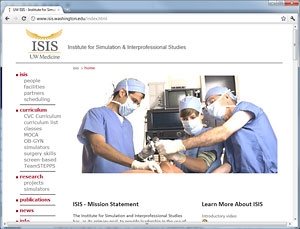 UW Anesthesiology & Pain Medicine: Research: Institute for Simulation