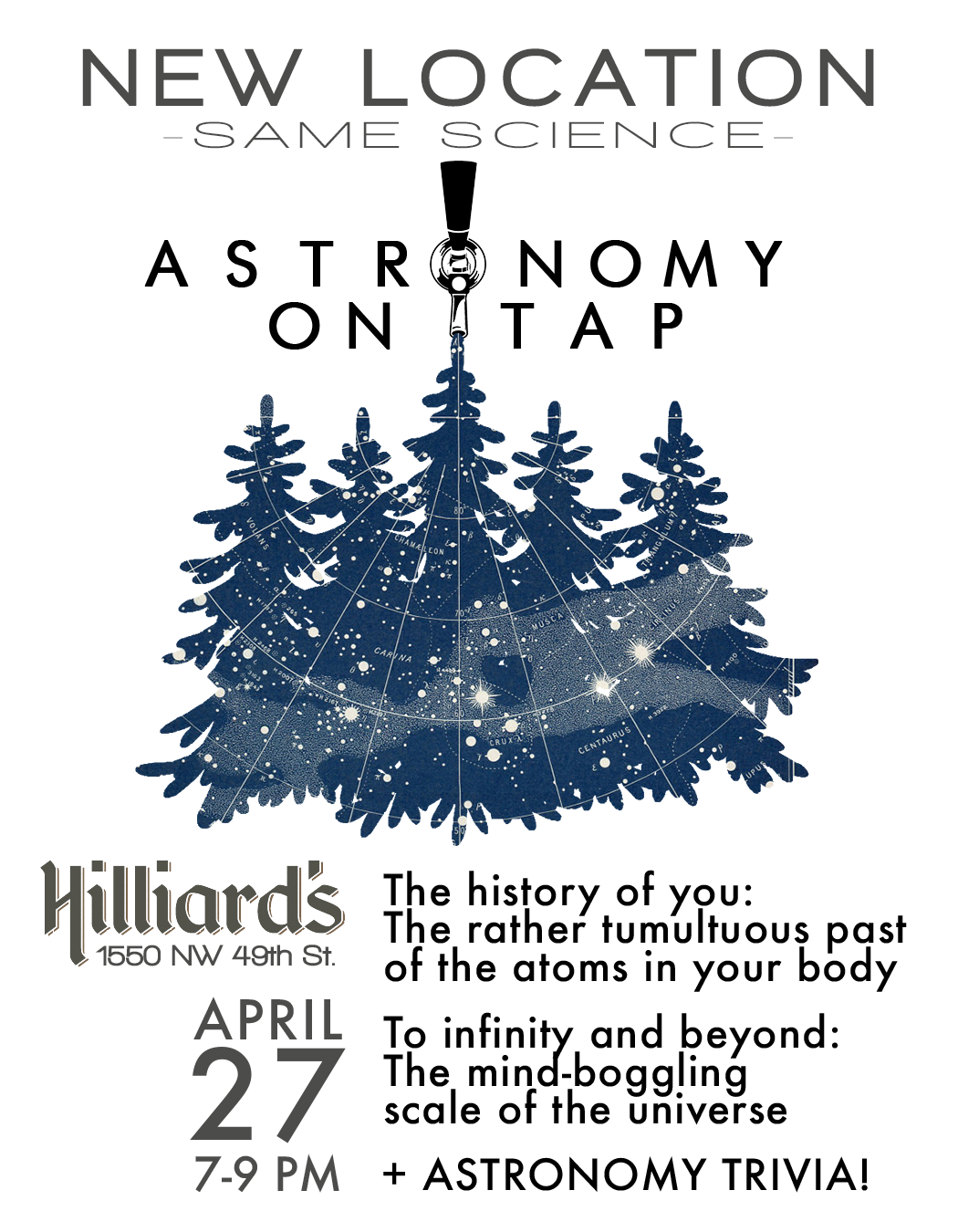 Astronomy On Tap April 27th Department Of Astronomy
