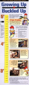 Hang This Growth Chart On The Wall And Watch Your Child Grow From Booster Seat To Belt