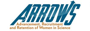 Logo for ARROWS: Advancement, Recruitment, and Retention of Women in Science