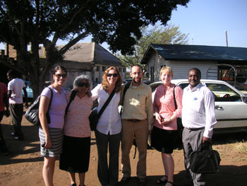 Kenya site visit team