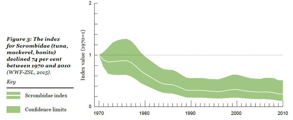 Figure 2. Trends in abundance for tuna and scombrids in the LBPI.