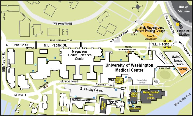 Map Of The Uw Campus Www Sham Store