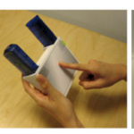 Example prototypes of context-aware applications developed by designers who participated in our study