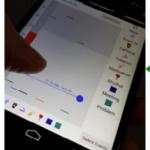 Mobile timeline for entering sleep data