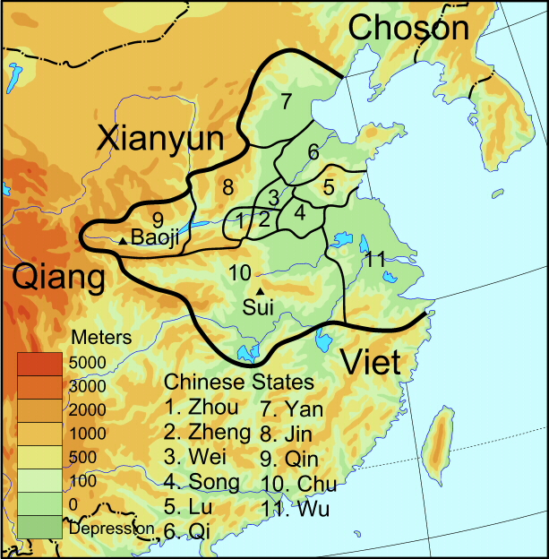 Zhou Dynasty Timeline The Chinese Dynasty Ti...