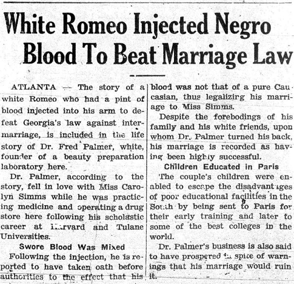 blocking racial intermarriage laws