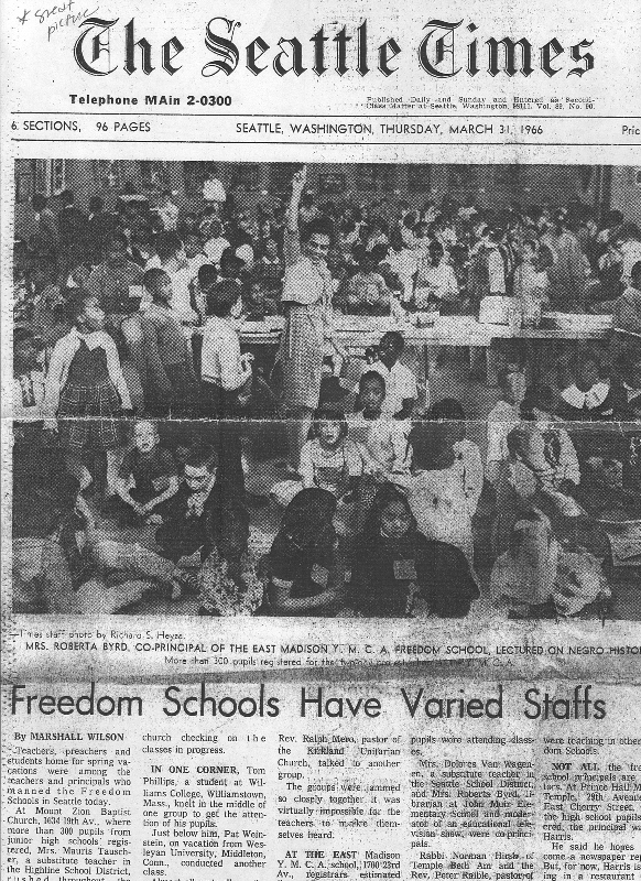 Image result for seattle 1966 boycott