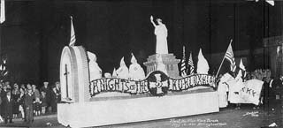KKK Parade Float