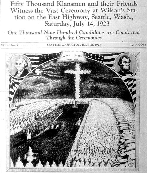Ku Klux Klan In Washington State 1920s