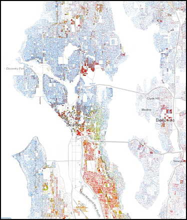 segregation maps