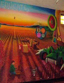 Chicano movement for Chicano mural movement