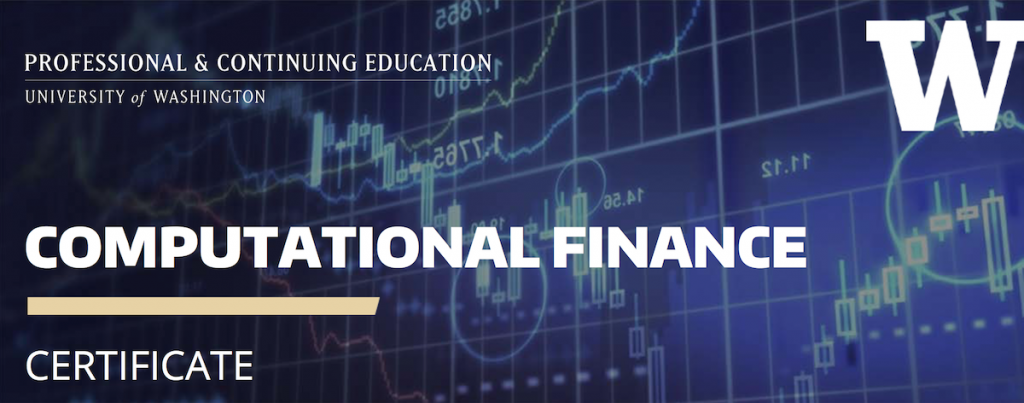 Calendar Design Options : Computational finance certificate uw