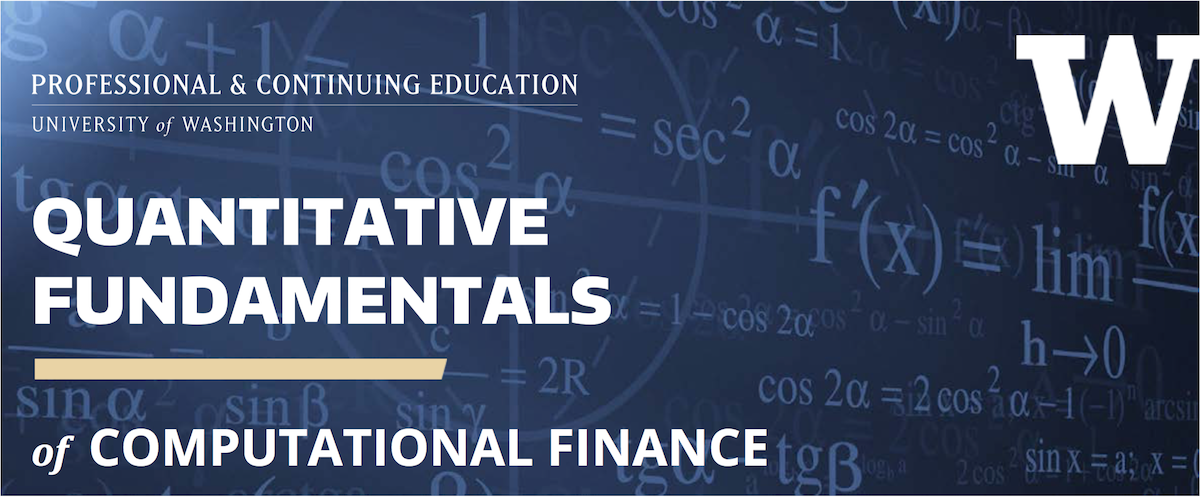 Quantitative Fundamentals Certificate Uw Computational Finance