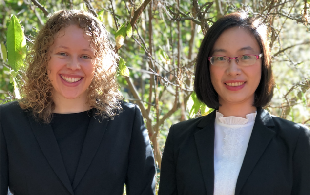 "Two CFRM Students Win ""Women in Quantitative Finance"" Award for 2018-19"