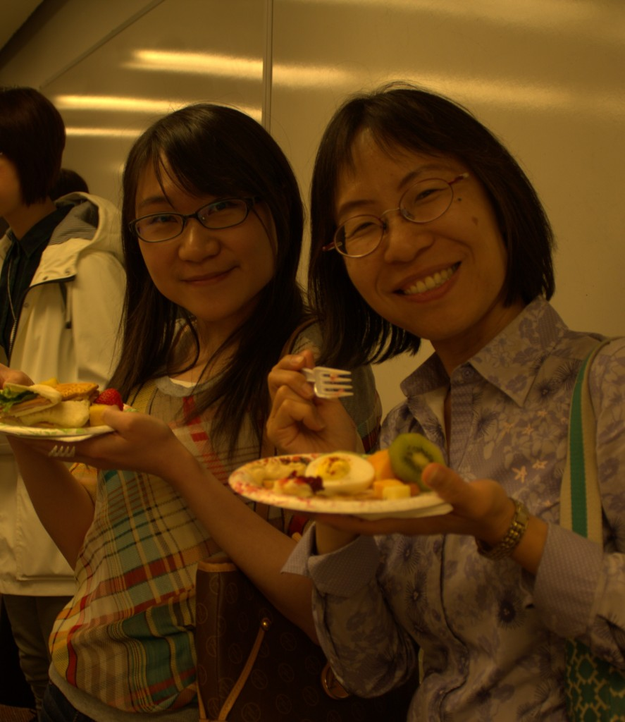 Charlene Chou and UW iSchool Ph.D student Wan-Chen Lee