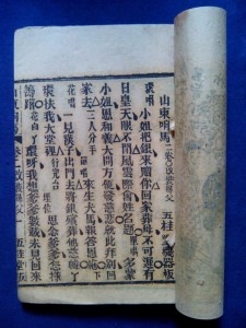 Sample Cantonese opera text