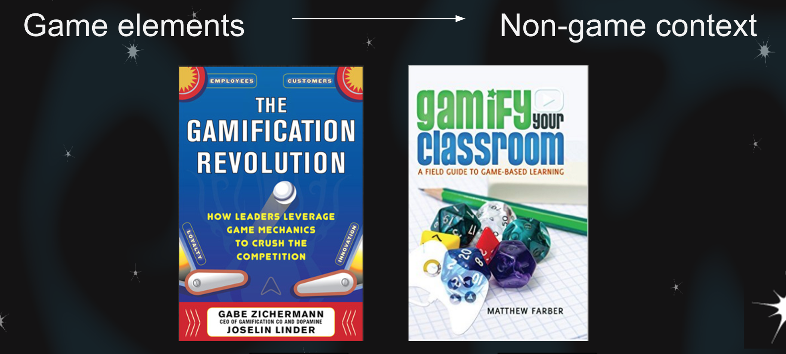 Example Gamification Books