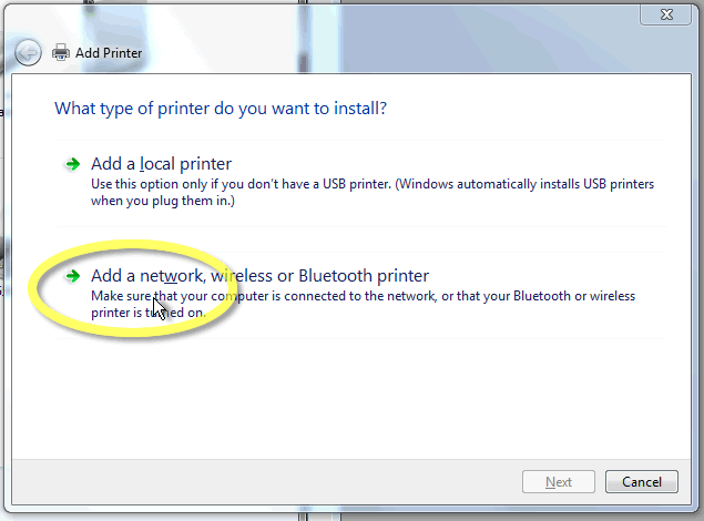 How to Add a Wireless or Network Printer in Windows 10 Learn how to add a printer to windows 10, Tutorial includes steps for adding a wireless printer or a network printer in Windows Sometimes we plug-in the device and itself its software gets installed and user can easily access the connected device and manage all the settings in the.