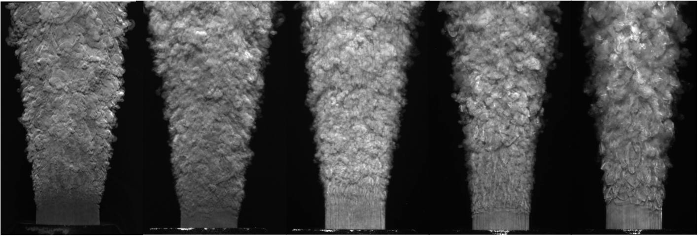 Turbulent Jet Visualization via Planar Laser-Induced Fluorescence