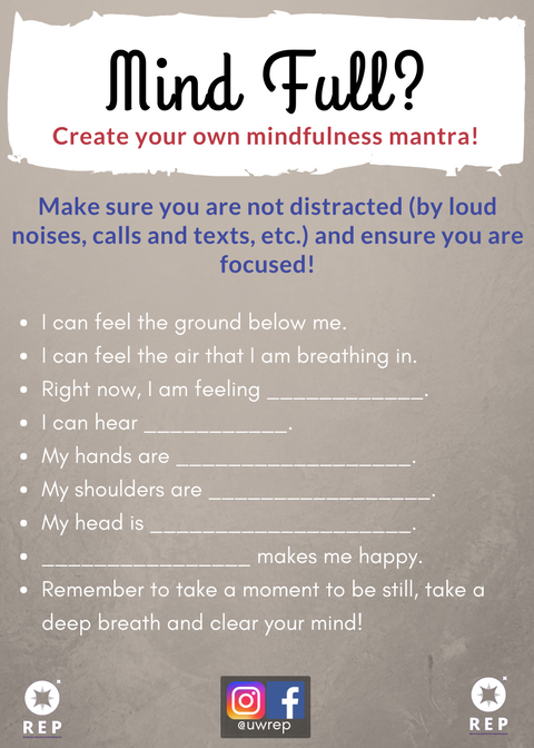 Mindful Or Mind Full Can You And Your >> Mindful Or Mind Full Residence Educationresidence Education
