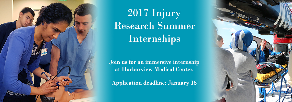 Now accepting application for paid summer research internships!