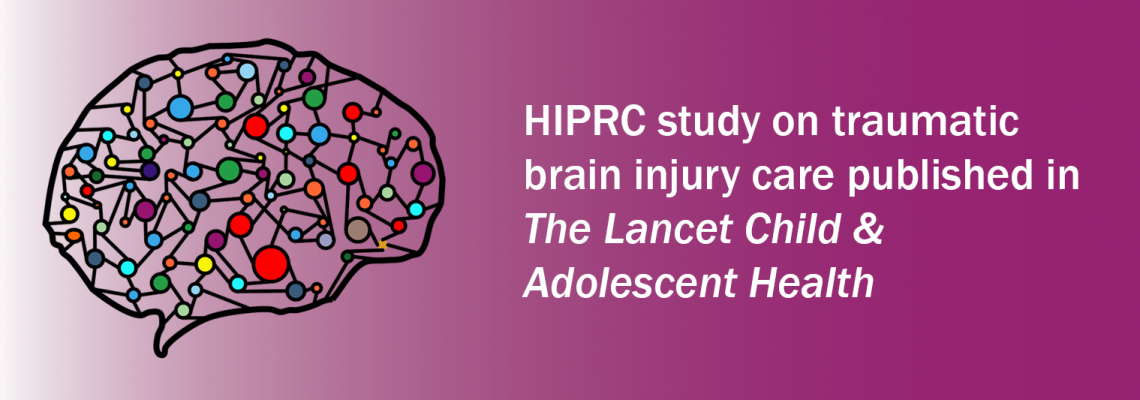 HIPRC study on care of pediatric traumatic brain injury published in Lancet journal