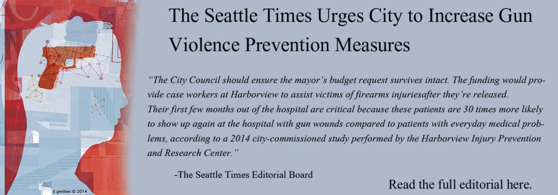 The Seattle Times Editorial Board Cites HIPRC Data to Urge City Council's Action on Gun Violence