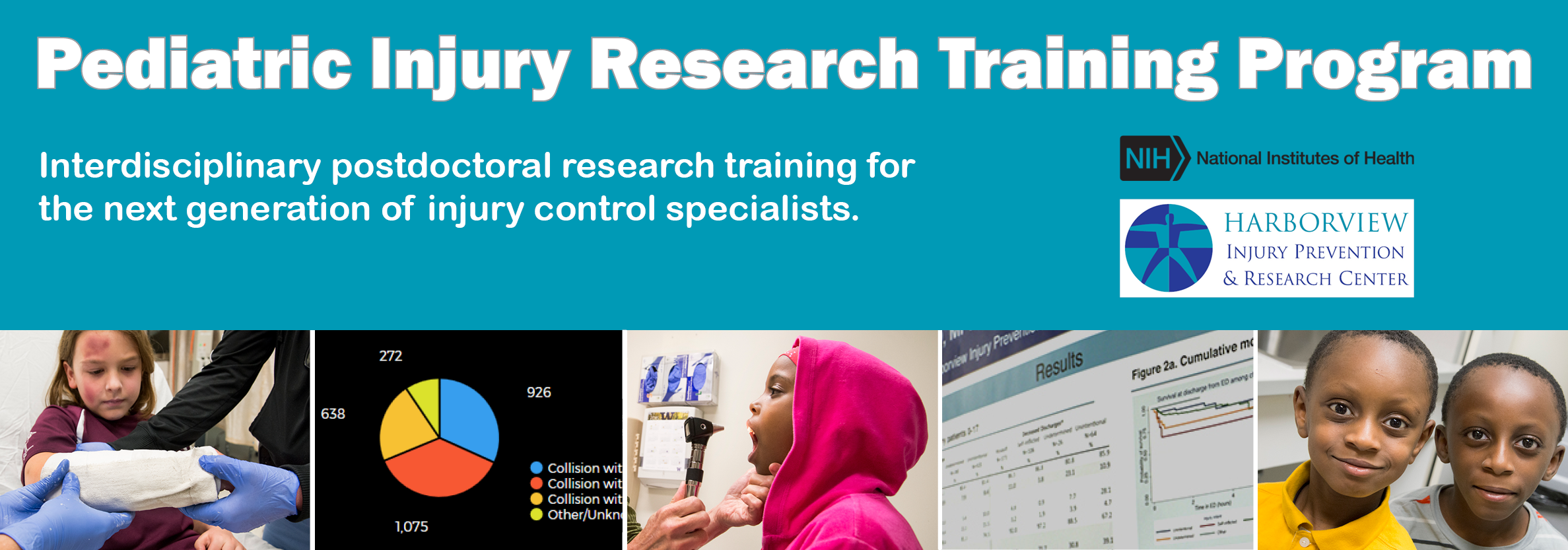 Pediatric Injury Research Training Program: Interdisciplinary postdoctoral research training for the next generation of injury control specialists.