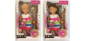 "Two examples of boxed ""My Friend Cayla"" dolls."