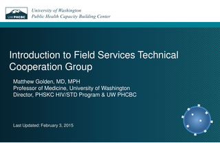 Modernizing Field Services