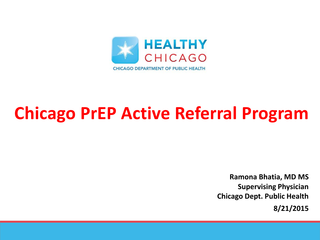Chicago PrEP Active Referral Program