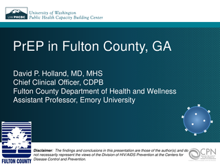 PrEP in Fulton County, GA