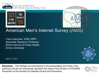 American Men's Internet Survey (AMIS)