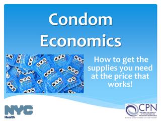 Condom Economics