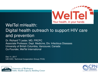 WelTel mHealth: Digital health outreach to support HIV care and prevention