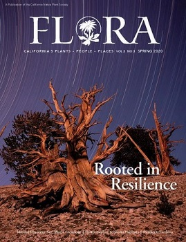 Cover of Spring 2020 issue of Flora: California's plants|people|places