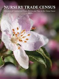 Nursery trade  census : directory of commercial fruits, berries, and nuts in the United States 2015 / compiled by Seed  Savers Exchange.