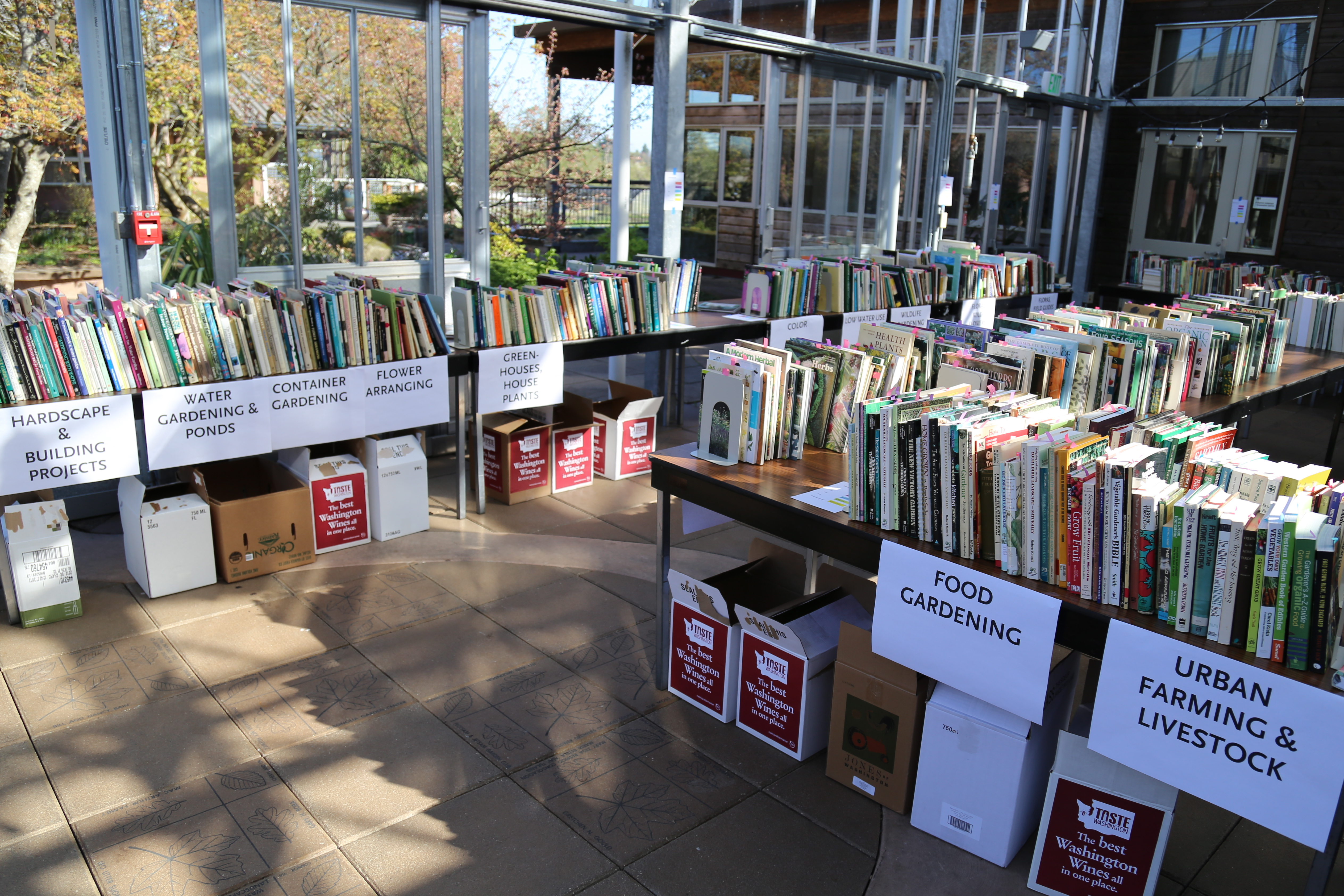 book sale offerings