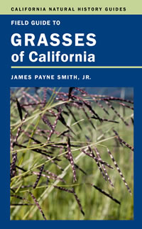 Grasses of California book jacket