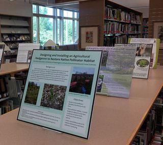 student poster exhibit