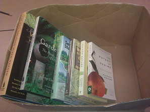 donated books photo