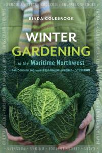 Winter gardening book jacket