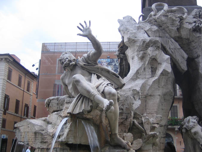 View Page: Piazza Navona and Bernini's Four Rivers Fountain