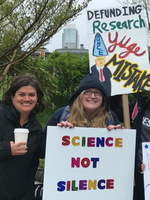 photo: PhD Students and Faculty March for Science