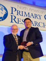 photo: Dr. William Phillips Receives NAPCRG Distinguished Research Mentor Award