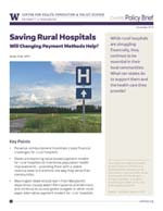 photo: Policy Brief November 2019 - Saving Rural Hospitals