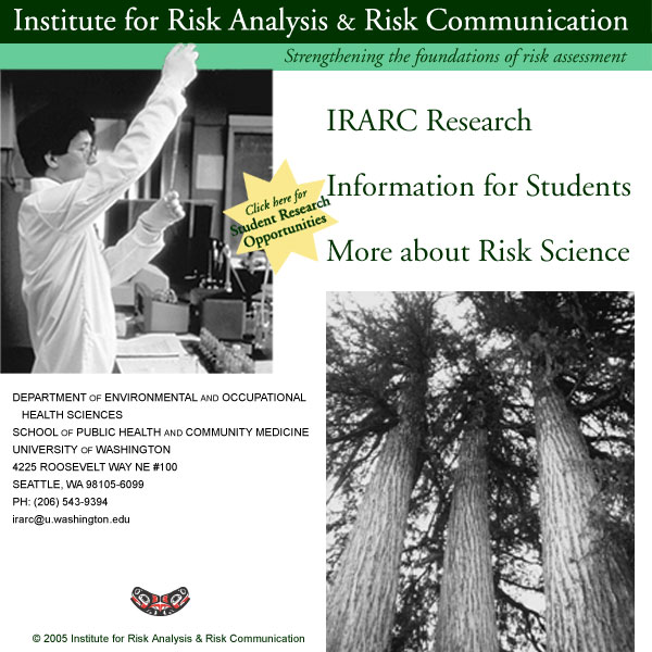 For Risk Analysis And Communication Comes From The US Environmental Protection Agency National Institute Of Health Sciences
